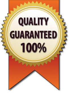 Quality Guaranteed 100% - 15 Year Guarantee